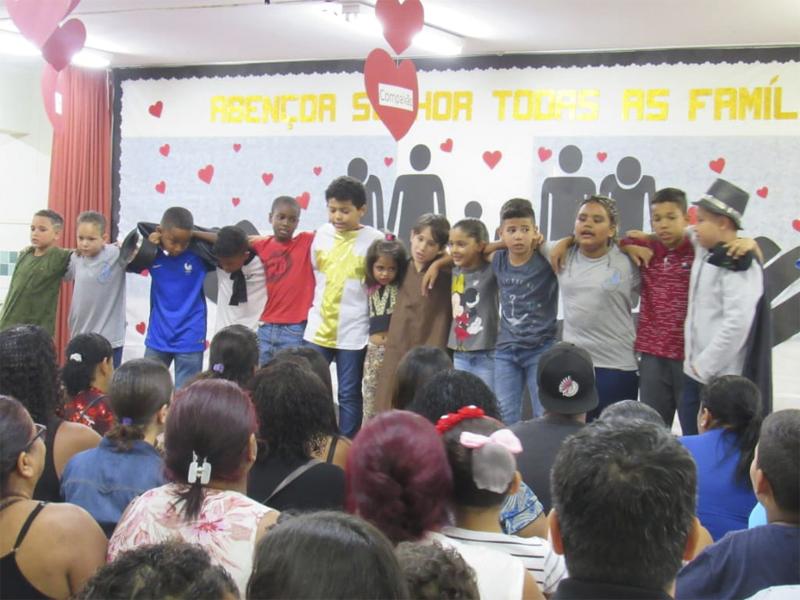 Show de talentos - Centro Comunitário Nossa Senhora de Fátima